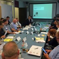 Mass Retirees & Unions Meet With GIC